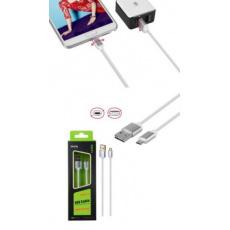 ALIGATOR Datový a nabíjecí kabel PLUS, Micro USB, oboustranný, (K3371), zlatý