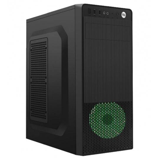 Gembird Computer case Midi Tower Fornax 150 Green USB 3.0