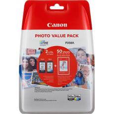 Canon PG-545 XL/CL-546 XL + fotopapír 50x GP-501