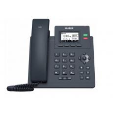 """Yealink SIP-T31 SIP telefon, 2,3"""" 132x64 podsv. LCD, 2 x SIP úč., 100M Eth"""