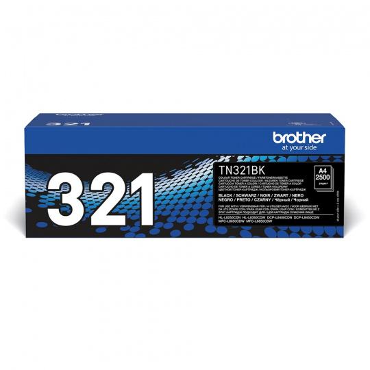 Brother TN-321BK, toner black, 2 500 str.