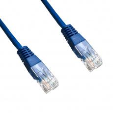 DATACOM Patch cord UTP CAT6 0,25m modrý