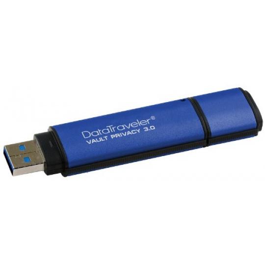 4GB Kingston DTVP30 USB 3.0 256bit AES Encrypted