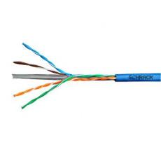 Kabel U/UTP Cat.6 4x2xAWG24 300 MHz, PVC modrý, Eca, 305m