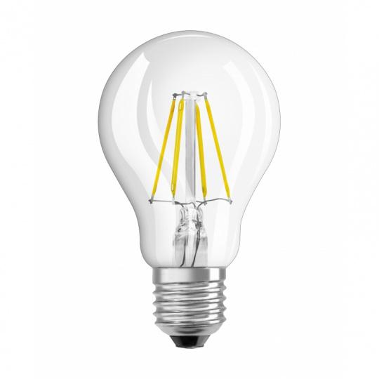 Osram LED žárovka E27 4,0W 2700K 470lm Value Filament A-klasik