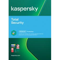 ESD Kaspersky Total Security 4x 2 roky Obnova