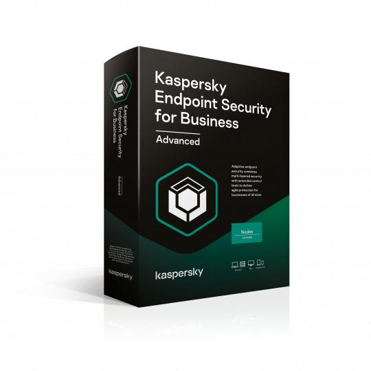 Kaspersky Endpoint Advanced 25-49 Node 1 year Nová