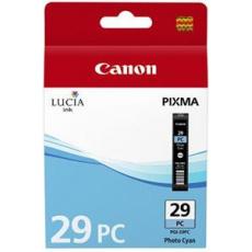 Canon PGI-29 PC, foto azurová