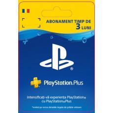 ESD RO - PlayStation® Plus: 3 Month Membership