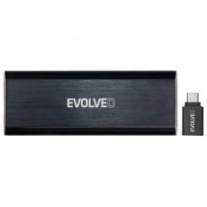 EVOLVEO Tiny N1, 10Gb/s, NVME externí rámeček, USB A 3.1