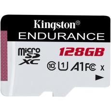 128GB microSDXC Kingston Endurance CL10 A1 95R/45W bez adapteru