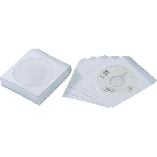 Papírová obálka pro CD nebo DVD s okénkem 10 ks
