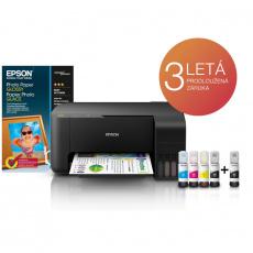 Epson L3110, EcoTank 3v1, tiskárna, kopírka, skener