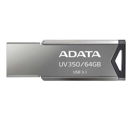 64GB ADATA UV350 USB 3.1 silver (potisk)