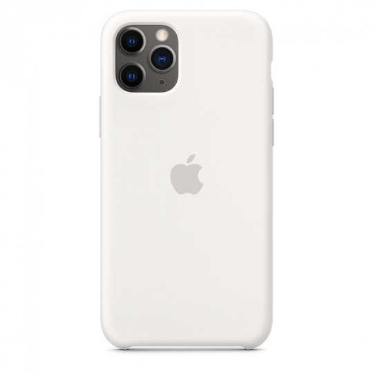 iPhone 11 Pro Silicone Case - White