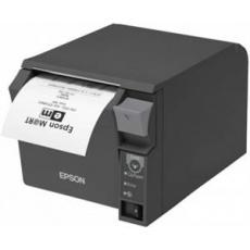 Epson pokladní termotiskárna TM-T70II, tmavá, ether.+USB, zdroj