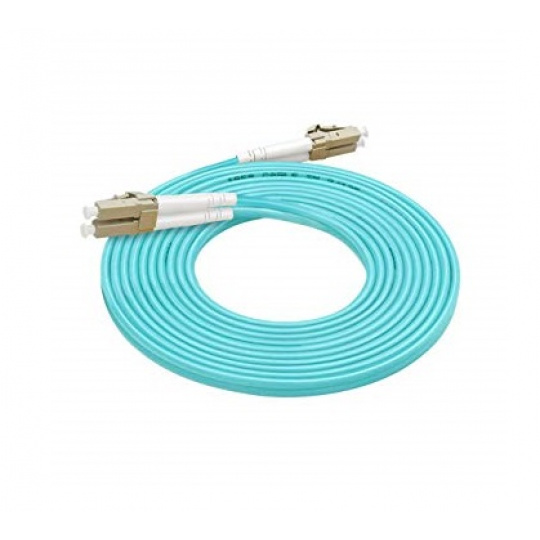 Optický patch kabel duplex LC-LC 50/125 MM 22m OM3