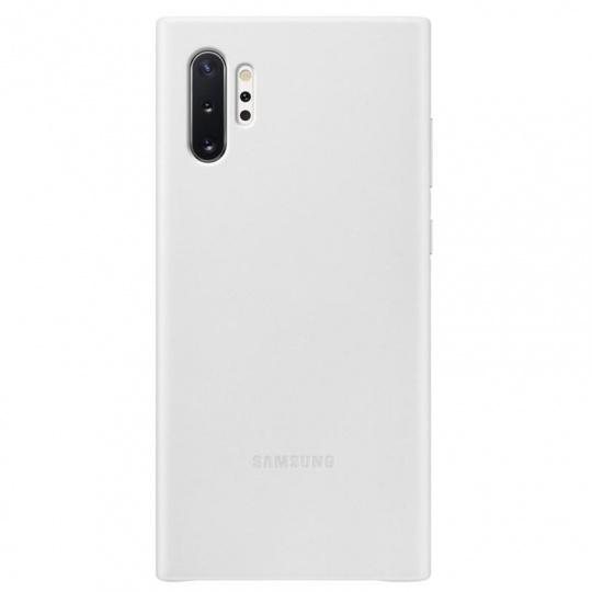 Samsung Kožený zadní kryt pro Galaxy Note10+ White