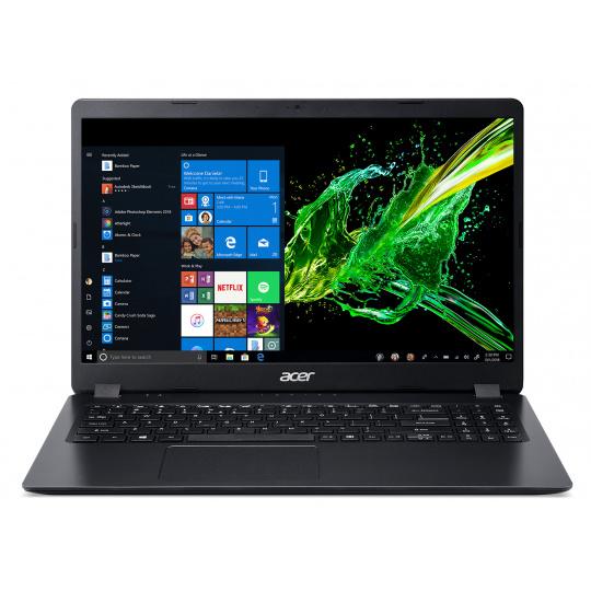 """Acer Aspire 3, A315-56-362P, 15.6"""" FHD, i3-1005G1, 4GB, 128GB SSD, Windows 10S, černý"""