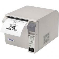 Epson pokladní termotiskárna TM-T70II, bílá, BT, USB, zdroj