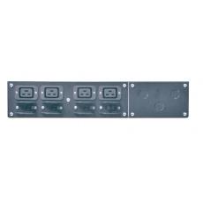 APC Service Bypass Panel- 230V; 32A; MBB; Hardwire input; (4) IEC-320 C19 Output