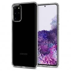 Ochranný kryt Spigen Liquid Crystal pro Samsung Galaxy S20 plus transparentní