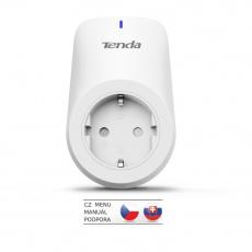 Tenda SP3 Beli - Chytrá Wi-Fi zásuvka 230V, 2300W, 10A, aplikace v češtině, samostatná