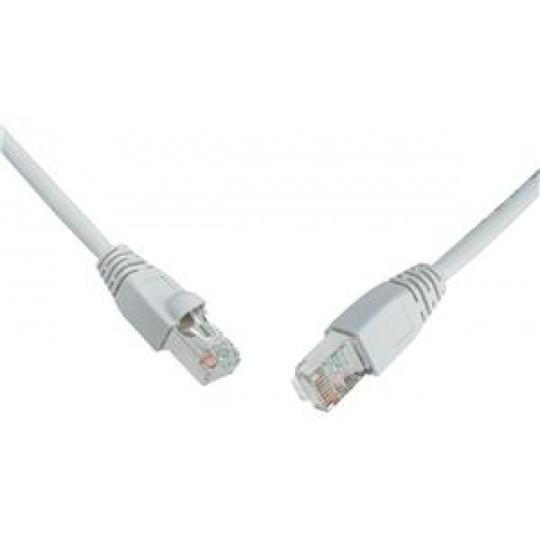SOLARIX patch kabel CAT6 UTP PVC 2m šedý snag-proof
