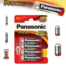 Panasonic LR6, AA , Pro Power, 4ks, alkalická baterie