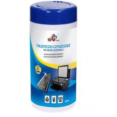 TB Clean Alkoholové čistící ubrousky v tubě(100ks)