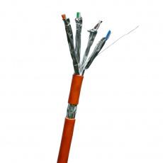DATACOM S/FTP drát CAT7  LSOH  300m oranžový