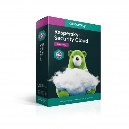 Kaspersky Security Cloud Personal 5x 1 rok Nová