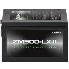 Zdroj Zalman ZM500-LXII 500W eff. 85% ATX12V v2.31 Active PFC 12cm fan