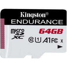 64GB microSDXC Kingston Endurance CL10 A1 95R/45W bez adapteru