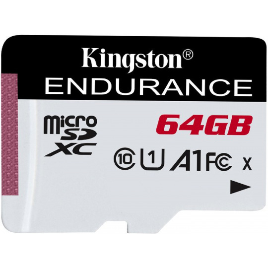 64GB microSDXC Kingston Endurance CL10 A1 95R/45W bez adapteru