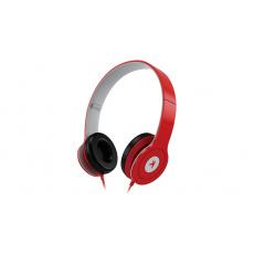 Sluchátka s mik. GENIUS HS-M450, red