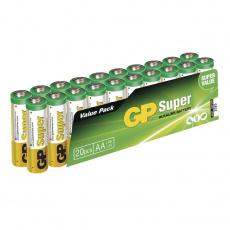 GP LR6, AA, 20ks, alkalické baterie