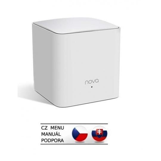 Tenda Nova MW5s (1-pack) Wireless AC1200 Mesh system Dual Band, 2x LAN, MU-MIMO, SMART CZ aplikace