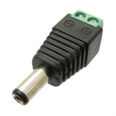 DCSV21  DC napájecí konektor 2.1mm se svorkovnicí