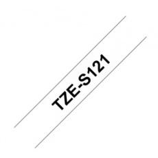 TZE-S121 průsvitná / černá, 9mm