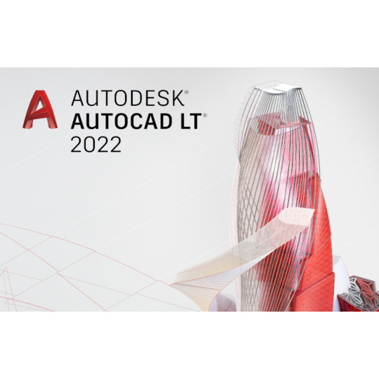 AutoCAD LT 2022 Commercial New Single-user ELD 1-Year Subscription