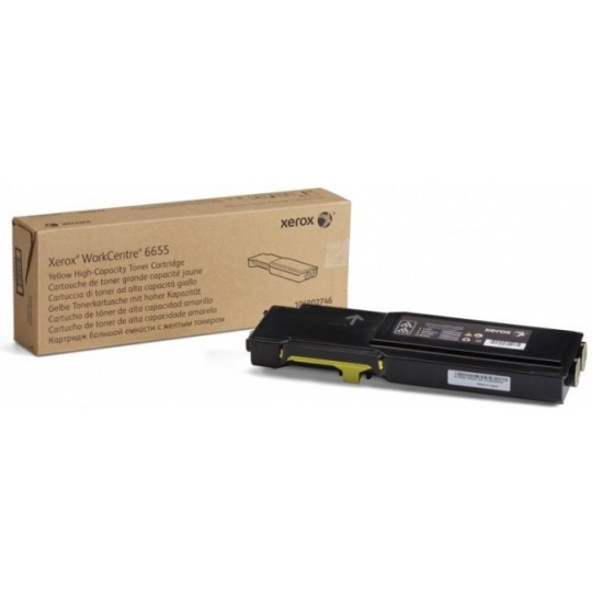Xerox tonerová kazeta pro WC 6655, 7 500 s. Yellow