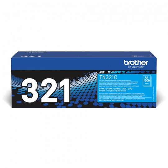 Brother TN-321C, toner cyan, 1 500 str.