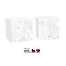 Tenda Nova MW12 (2-pack) WiFi AC2100 Mesh Gigabit system Tri Band, 6x GLAN/GWAN, SMART CZ aplikace