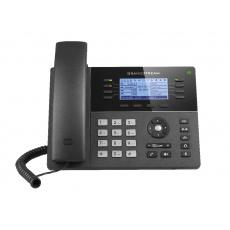 "Grandstream GXP1780, 3,3"" LCD podsv. displej, 4 SIP účty, 8 prog. tlačítek, 32 digital BLF, PoE"