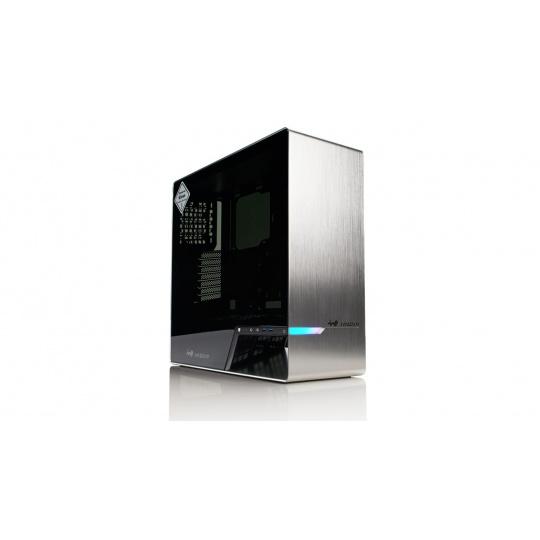 Midi ATX skříň In Win 905 Silver RGB