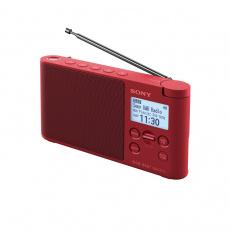 Sony radiopřijímač XDRS41DR.EU8 DAB tuner červený