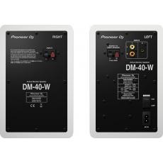 Pioneer DJ DM-40 2pás reproduktory bílé