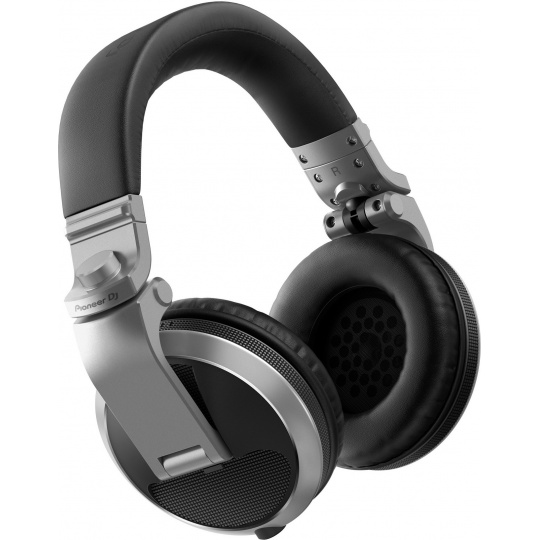 Pioneer DJ HDJ-X5 sluchátka stříbrná