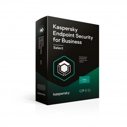 Kaspersky Endpoint Select 15-19 Node 1 year Nová